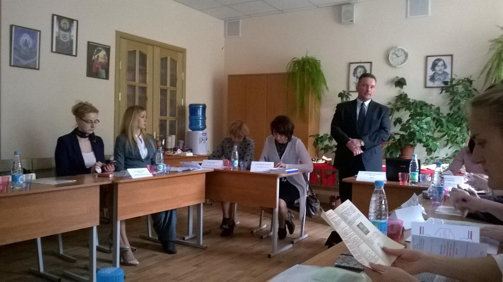 Круглый стол по обмену опытом ОЭР, связанной с профессиональным становлением учителя