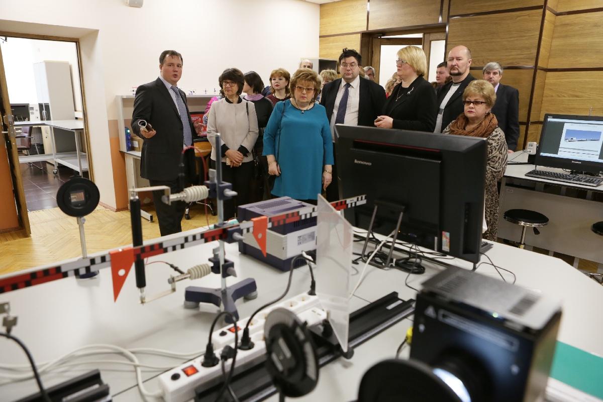 Открытие Научного парка СПбГУ