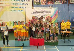Районные соревнования «Весенняя капель» среди команд детских садов
