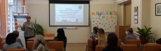 Конкурс педагогических достижений в номинации «Воспитатель года» Жеребьевка.