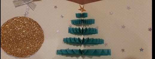 Мастер-класс «Работа с бумагой: поздравительная открытка к Новому году»